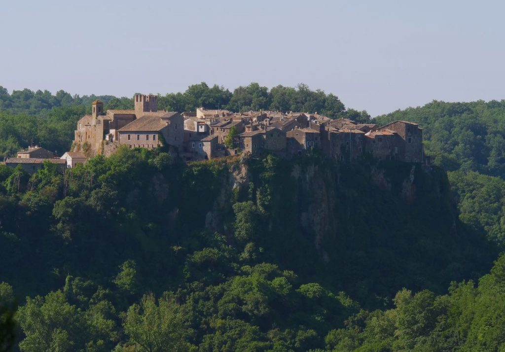 Calcata and the Valley of the River Treja